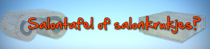 salontafel of krukje