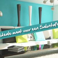 ideale maat salontafel in je woonkamer